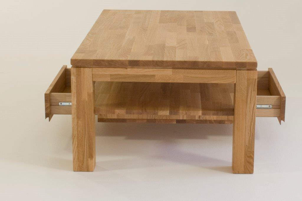 couchtisch kernbuche mit schublade 18254820170430. Black Bedroom Furniture Sets. Home Design Ideas
