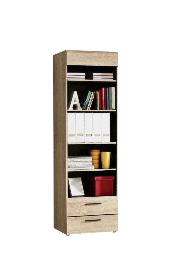 Regal COMBINO Bücherregal mit 2 Schubladen, Sonoma Eiche, von Forte