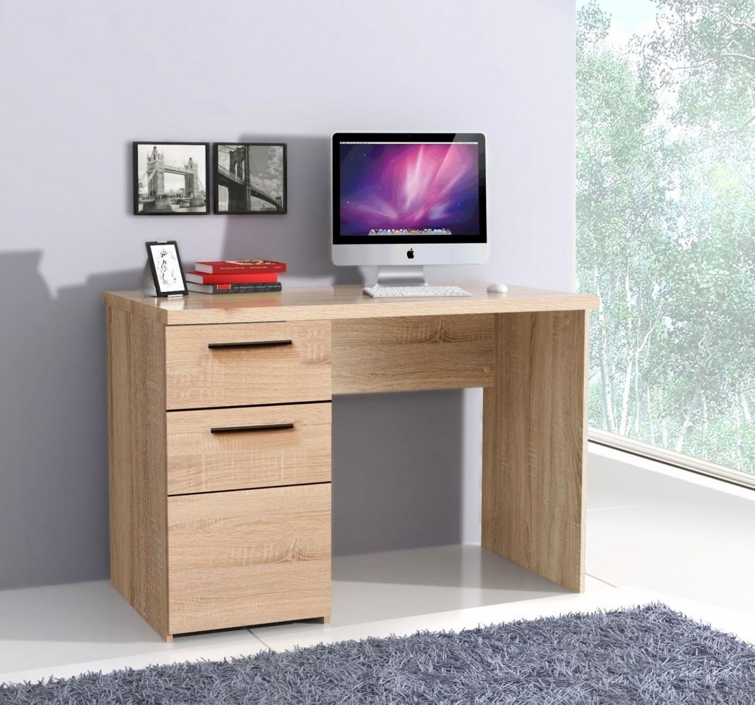 schreibtisch combino 110 cm 1 trg 1 schub sonoma eiche. Black Bedroom Furniture Sets. Home Design Ideas