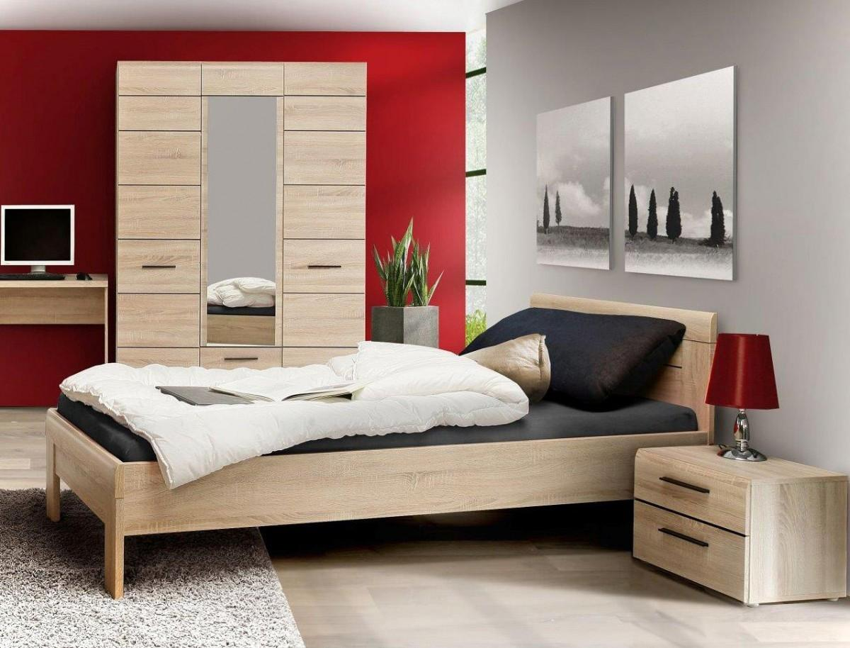 jugendbett eiche awesome varde wei eiche with jugendbett eiche massivholz x holzbett bett. Black Bedroom Furniture Sets. Home Design Ideas