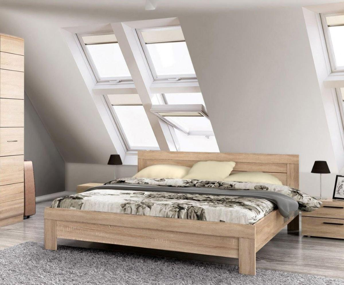 bett doppelbett domicilio 180 x 200 wei hochglanz lack. Black Bedroom Furniture Sets. Home Design Ideas