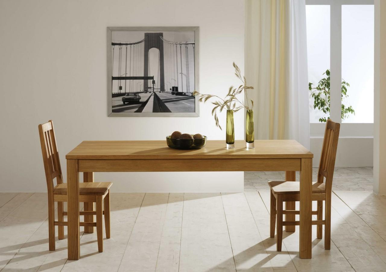 esstisch hanna in kernbuche oder wildeiche massivholz fu 9 x 9 cm. Black Bedroom Furniture Sets. Home Design Ideas