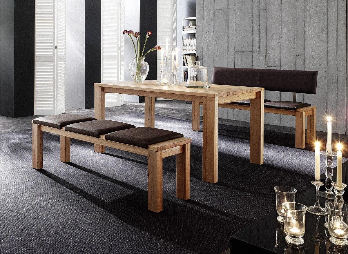 Loft tisch esstisch eva in kernbuche oder wildeiche massivholz for Tisch massivholz