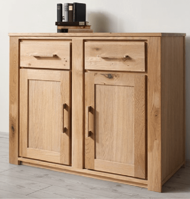 Henke schrank sideboard virginia 901 wildeiche massiv for Schrank wildeiche