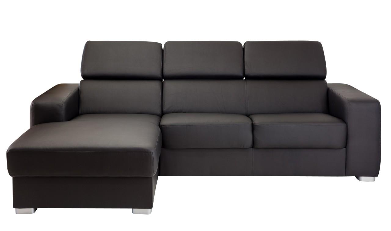 sofa pedra wohncouch mit ottomane kunstleder bezug soft. Black Bedroom Furniture Sets. Home Design Ideas