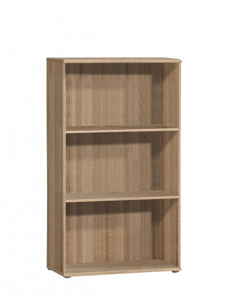 regal b cherregal tempra 72 111 sonoma eiche s gerau optik von forte. Black Bedroom Furniture Sets. Home Design Ideas