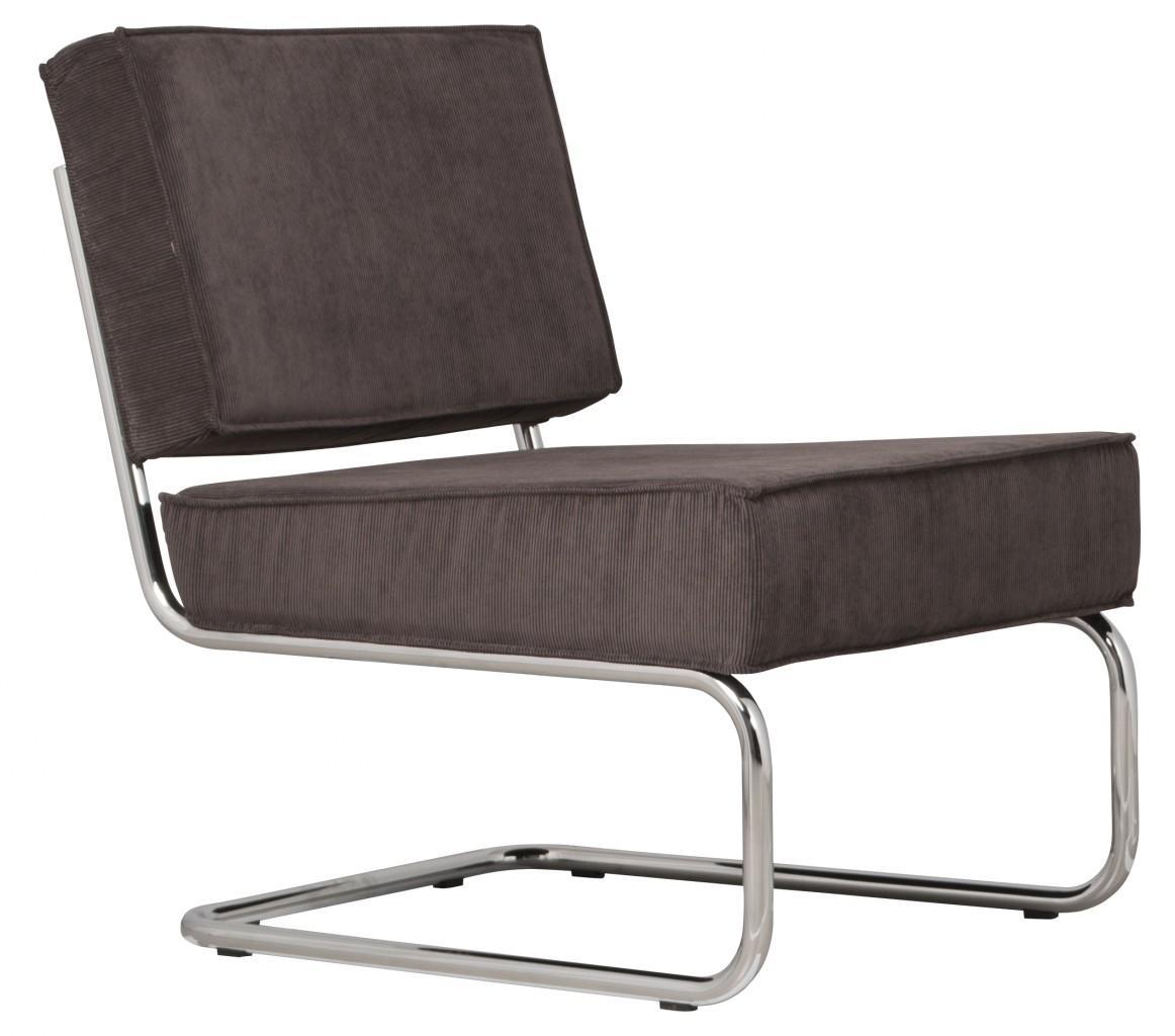 zuiver retro designer lounge relaxsessel ridge rib grey. Black Bedroom Furniture Sets. Home Design Ideas