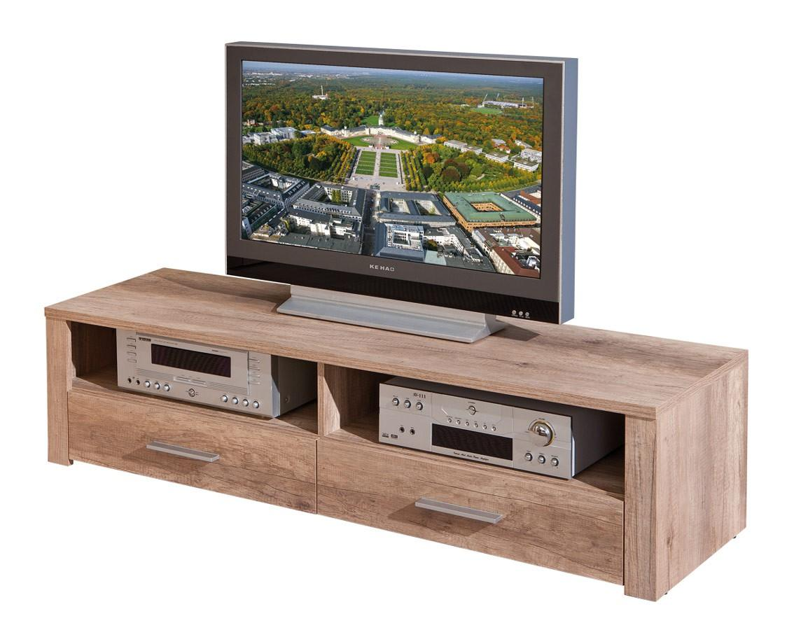 TV-Board Lowboard ABSOLUTO Fernseh-Konsole in Wildeiche Dekor
