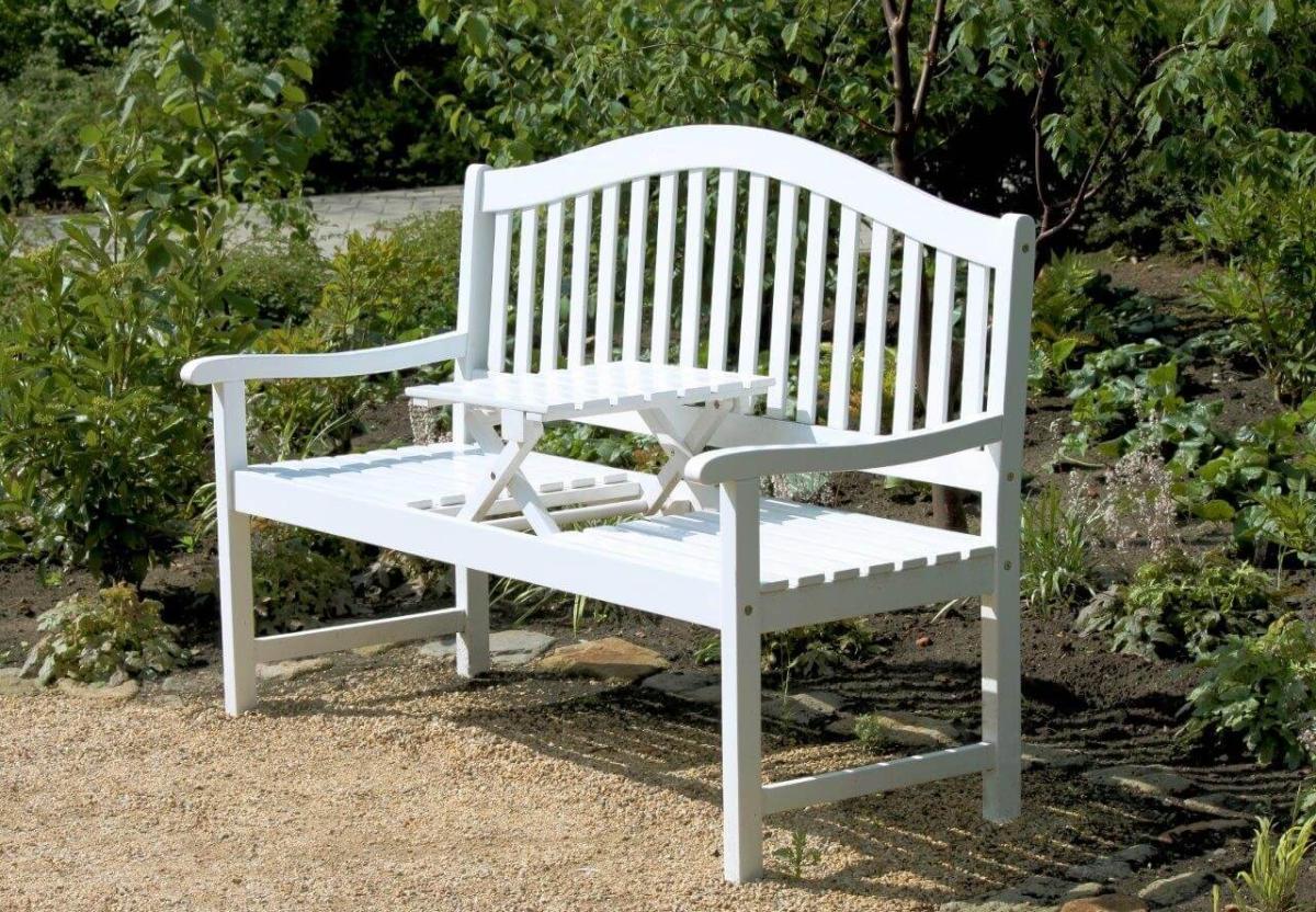Teakholz Gartenmobel Pflegemittel : Gartenbank Weiss Artikel In Merkliste Eintragen Pictures to pin on