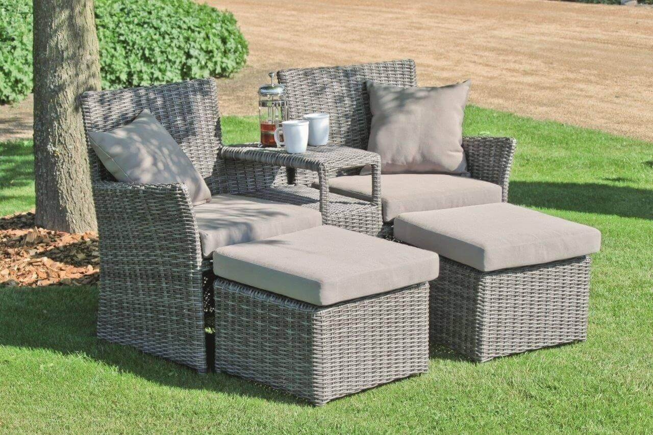 garten lounge set geflechtgruppe calgary 3 teilig inkl kissen. Black Bedroom Furniture Sets. Home Design Ideas