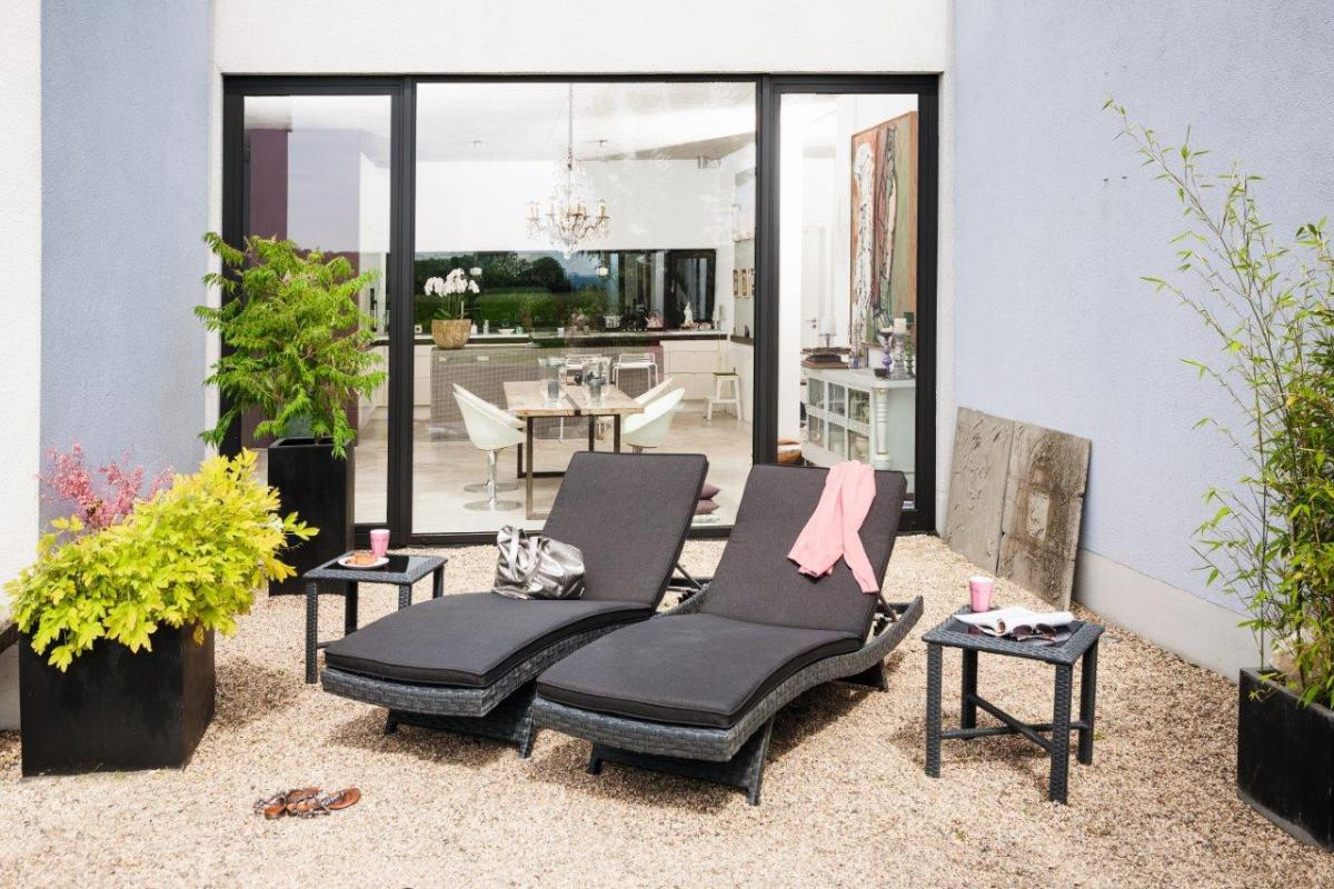 kettler gartenliege sonnenliege bistro inkl auflage. Black Bedroom Furniture Sets. Home Design Ideas