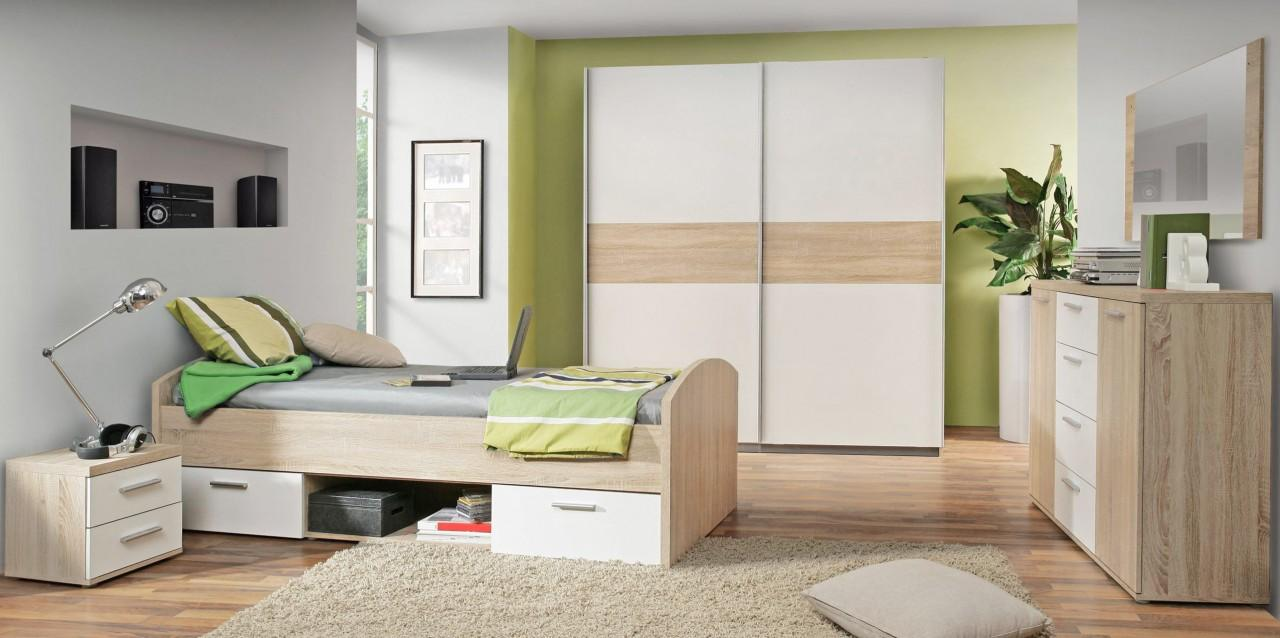 deko idee wohnzimmer eiche bianco. Black Bedroom Furniture Sets. Home Design Ideas