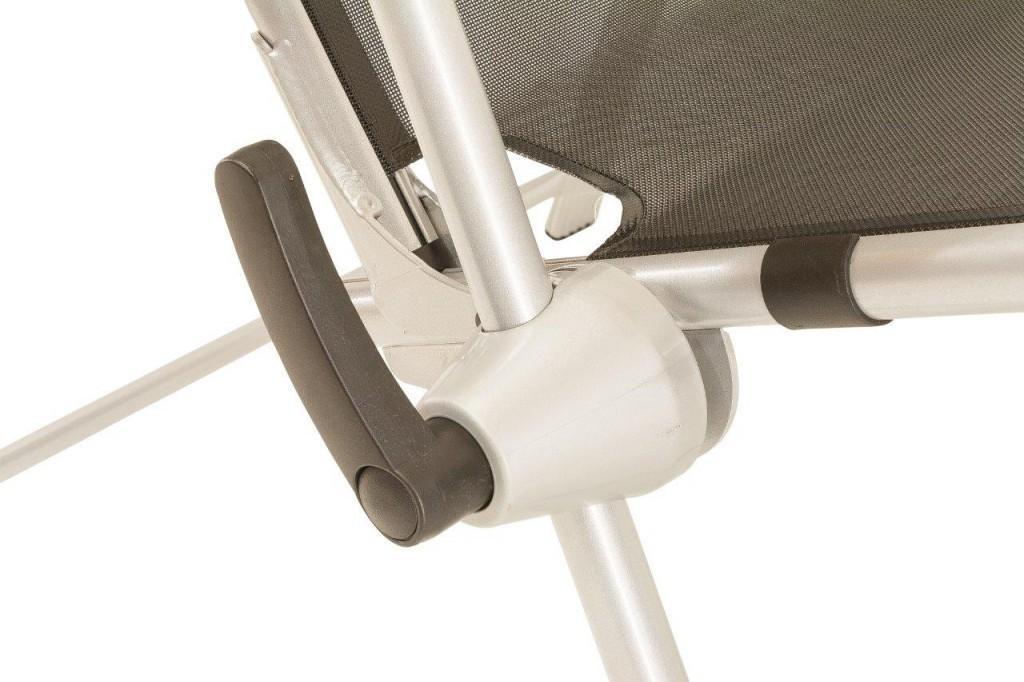 Gartenmobel Teak And More : Kettler Aluminium Relaxliege Bäderliege Tampa Textilene Anthrazit