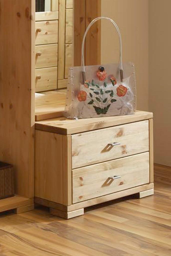kommode guldborg unterkommode 2 schubladen kiefer massiv. Black Bedroom Furniture Sets. Home Design Ideas