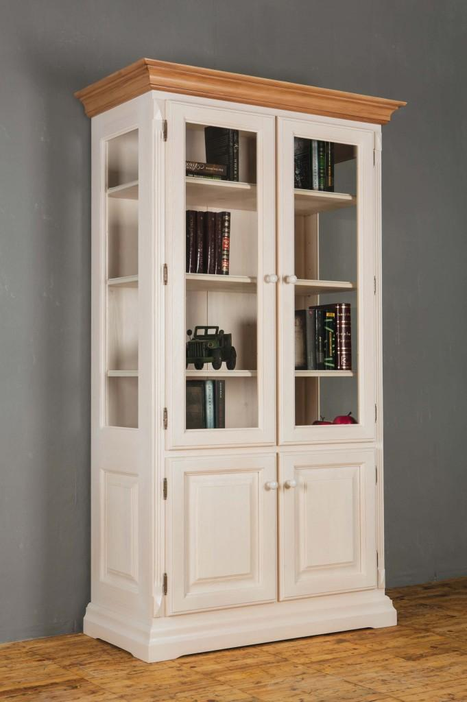 landhausstil vitrine weiss preisvergleiche. Black Bedroom Furniture Sets. Home Design Ideas
