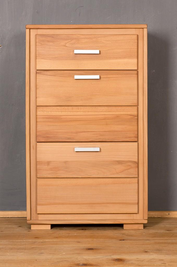 schuhschrank schuhkipper genf 61 cm kernbuche massiv ge lt gewachst. Black Bedroom Furniture Sets. Home Design Ideas