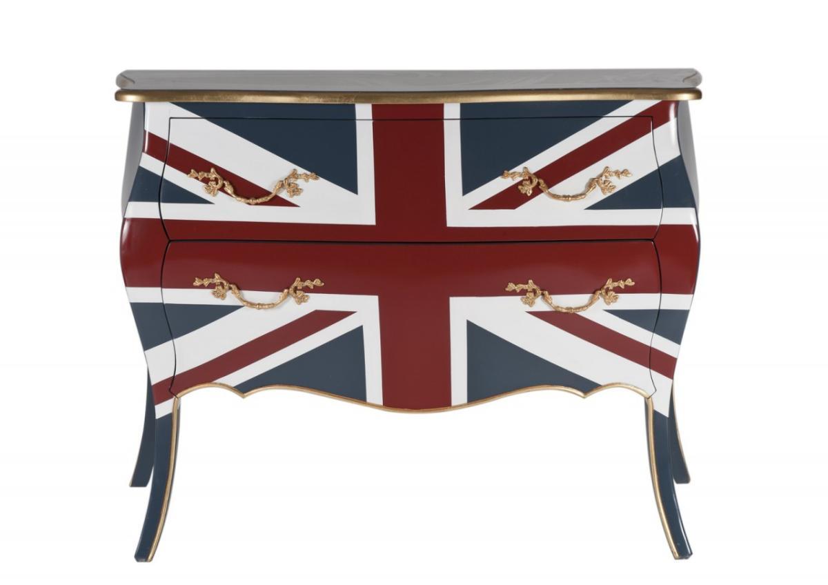 Schubladenkommode UNION JACK Kommode mit England Flagge