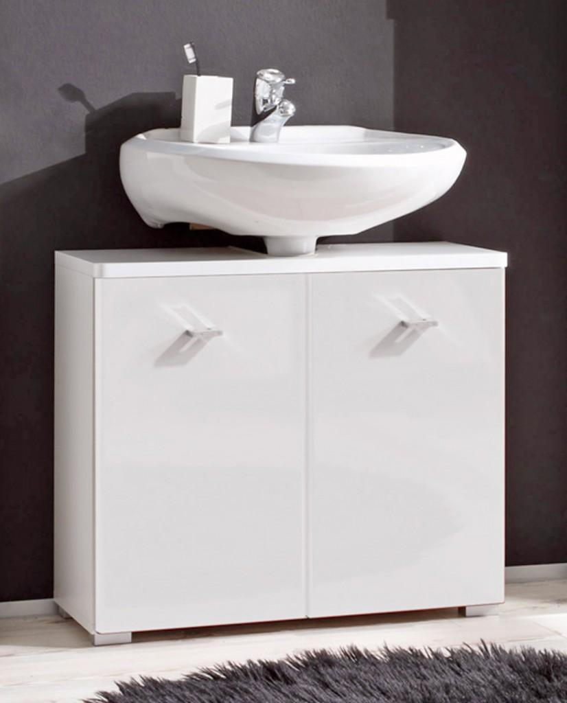 Waschtisch Kommode Aveo : Waschtisch-Kommode BAROLO Waschbeckenunterschrank 2 Türen, Dekor ...